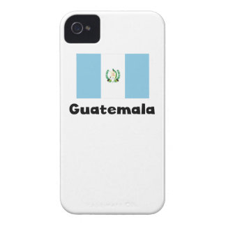 グアテマラの旗 Case-Mate iPhone 4 ケース