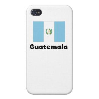 グアテマラの旗 iPhone 4/4Sケース
