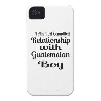 グアテマラの男の子との人間関係 Case-Mate iPhone 4 ケース