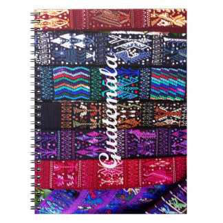 グアテマラの織物の設計 ノートブック