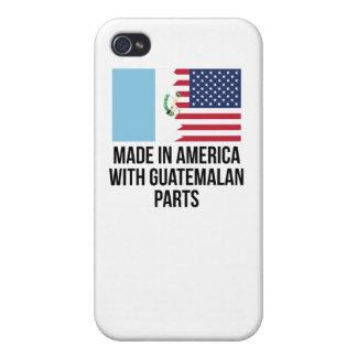 グアテマラの部品が付いているアメリカで作られる iPhone 4/4Sケース