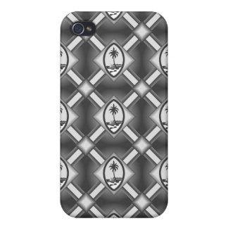 グアムのシールのiphone 4ケース-灰色 iPhone 4/4S cover