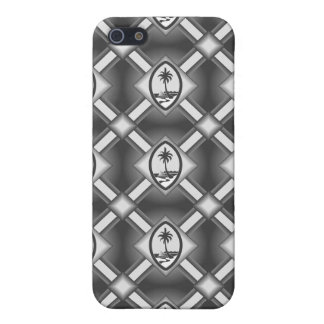 グアムのシールのiphone 4ケース-灰色 iPhone 5 case