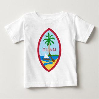 グアムのシール ベビーTシャツ