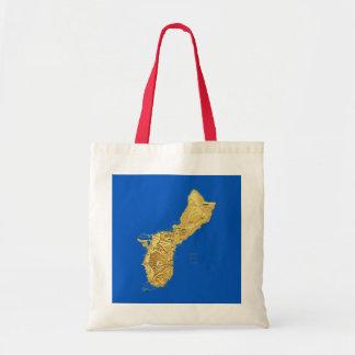 グアムの地図のバッグ トートバッグ
