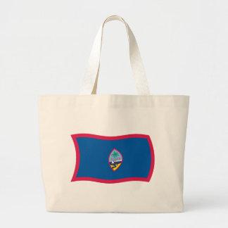 グアムの旗のトートバック ラージトートバッグ