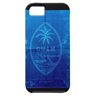 グアムの旗のiphone 5カバー iPhone SE/5/5s ケース