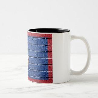 グアムの旗 ツートーンマグカップ
