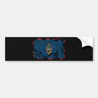 グアムの旗 バンパーステッカー