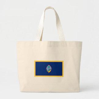 グアムの旗 ラージトートバッグ