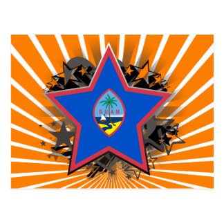 グアムの星 ポストカード