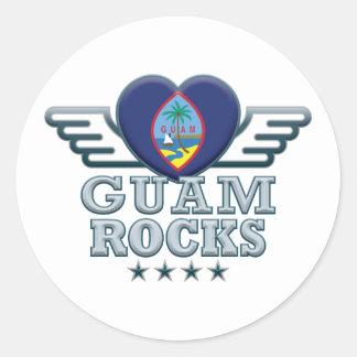 グアムの石v2 ラウンドシール