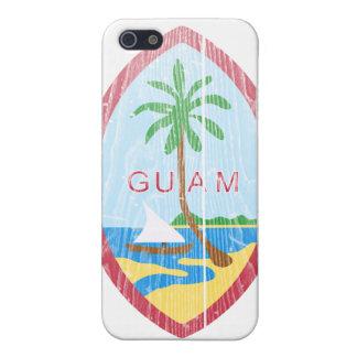グアムの紋章付き外衣 iPhone 5 COVER