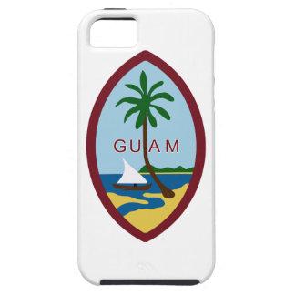 グアムの紋章付き外衣 iPhone SE/5/5s ケース