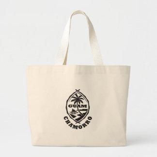 グアムの素晴らしいシール ラージトートバッグ