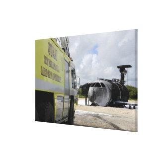 グアムのWONPAT空港 キャンバスプリント