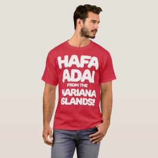 グアムはマリアナ諸島からの671 Hafa Adaiを走ります Tシャツ