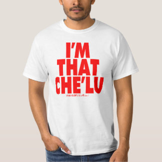 グアムは私によってがそのChe'lu -赤である671を走ります Tシャツ
