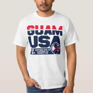 グアムは671のMicronesianゲームを走ります Tシャツ