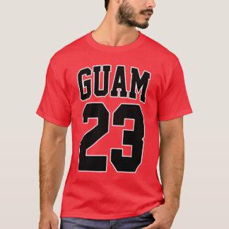 グアムは671バスケットボールのスーパースター23を走ります Tシャツ