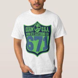 グアムは671 Seattlecityのプレーオフを走ります Tシャツ