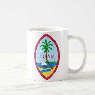 グアム-または記号紋章か旗または紋章付き外衣 コーヒーマグカップ
