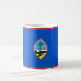 グアム-米国の旗が付いているマグ コーヒーマグカップ