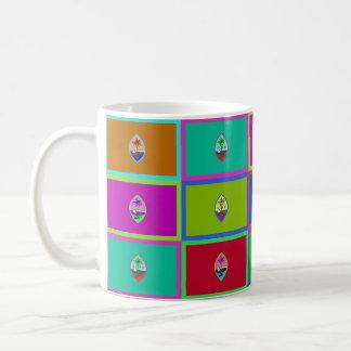 グアムMultihueはマグに印を付けます コーヒーマグカップ