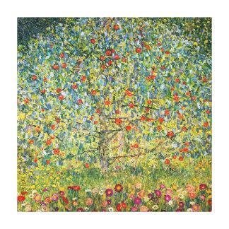 グスタフのクリムトによるりんごの木 キャンバスプリント