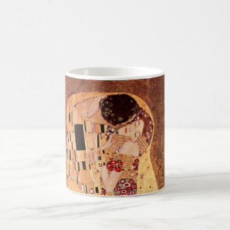 グスタフのクリムトによるキス コーヒーマグカップ