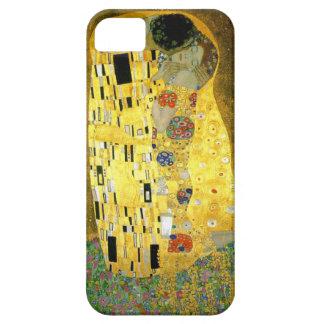 グスタフのクリムトによるキス iPhone SE/5/5s ケース