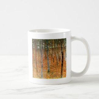 グスタフのクリムトによるブナの森林 コーヒーマグカップ