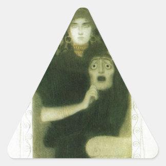 グスタフのクリムトによる悲劇 三角形シール
