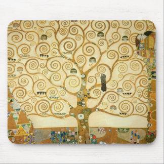 グスタフのクリムトによる生命の樹 マウスパッド