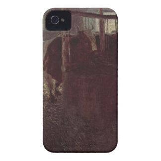 グスタフのクリムトによる納屋の牛 Case-Mate iPhone 4 ケース