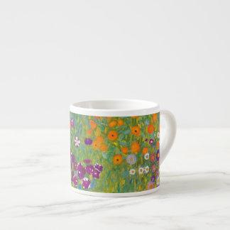グスタフのクリムトによる花園 エスプレッソカップ