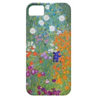 グスタフのクリムトによる花園 iPhone 5 ベアリーゼアケース