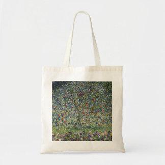 グスタフのクリムトのりんごの木のトートバック トートバッグ