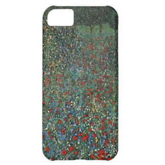 グスタフのクリムトのケシ分野 iPhone5Cケース