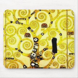 グスタフのクリムトのマウスパッドのバージョン3による生命の樹 マウスパッド