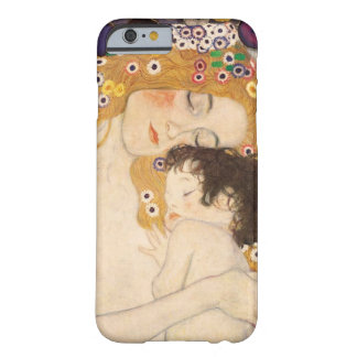 グスタフのクリムトの母および子供 BARELY THERE iPhone 6 ケース