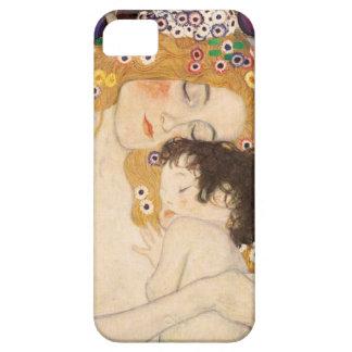 グスタフのクリムトの母および子供 iPhone SE/5/5s ケース