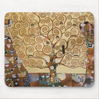 グスタフのクリムトの生命の樹 マウスパッド
