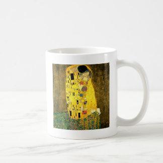グスタフのクリムトアールヌーボーによるキス コーヒーマグカップ