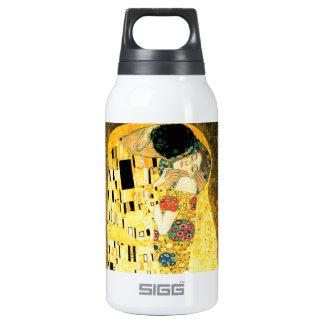 グスタフのクリムトアールヌーボーによるキス 断熱ウォーターボトル