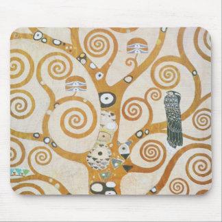 グスタフのクリムトアールヌーボー生命の樹 マウスパッド