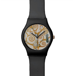 グスタフのクリムトアールヌーボー生命の樹 腕時計