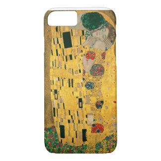 グスタフのクリムトキスのアールヌーボーJugendstilの金ゴールド iPhone 8/7ケース