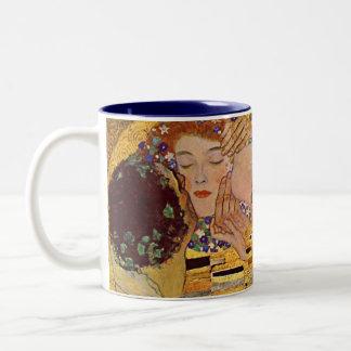 グスタフのクリムトキスのマグ ツートーンマグカップ
