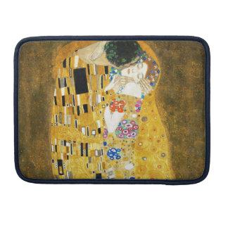 グスタフのクリムトキスのヴィンテージのアールヌーボーの絵を描くこと MacBook PRO用スリーブ